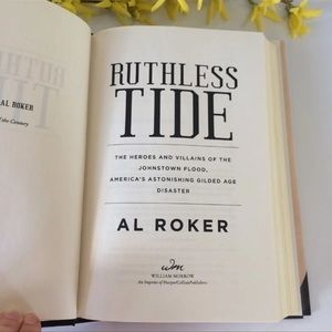 "Accents - ""Ruthless Tide"" History Nature Hard cover Book"